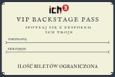 Ich Troje - Przepustki Vip Backstage Pass - Nysa