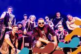Koncert Tabu na podróżniczym FluoParty